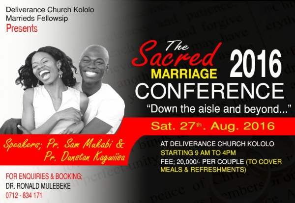 Marrieds Conference 2016